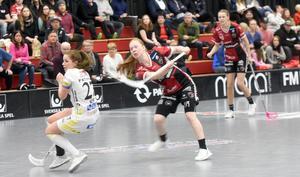 Johanna Hultgren gjorde två mål borta mot Täby.