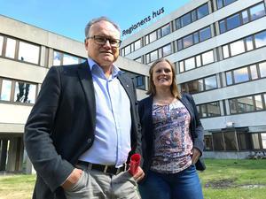 Det blev ingen Sundsvallsbo i regiontoppen den här mandatperioden heller. Istället socialdemokraterna Glenn Nordlund och Sara Nylund från Ö-vik respektive Härnösand.
