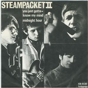 Mikael Ramels 60-talsband Steampacket II. Det är han i glasögon på bilden. Bild: discogs.com.