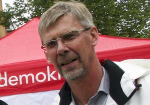 Landstingsrådet Gunnar Barke  (S) vilseförde väljarna i Dalarna i valrörelsen inför landstingsvalet 2014.