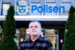 Per-Erik Lundberg, som har arbetat som polis i ungefär 40 år.
