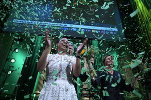 Miljöpartiet i Sverige backade i EU-valet, men i andra länder gick gröna partier framåt.