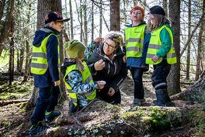 Ulrika Wessel brinner för sitt arbete och att alla barn ska ha möjlighet att utvecklas i förskolan. Foto: Anneli Åsén