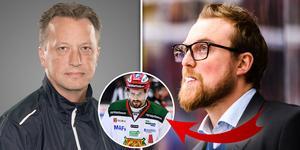 Örjan Lindmark och Jeff Jakobs blir Moras tränarduo den kommande säsongen. Bild: TT/Bildbyrån/Montage
