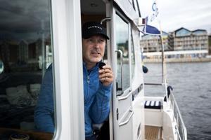 Björn Smit kommenterade varje race från mediabåten.