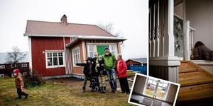 Två tuffa år ligger bakom Sara och Andreas Norlander i Salberg, Nordingrå. Först brann deras nyrenoverade hus, sen tappade de jobben sedan bageriet gått i konkurs. Jobben räddades efter några månader – och nu saknas bara de sista små detaljerna innan de och deras tre söner äntligen kan flytta in igen.