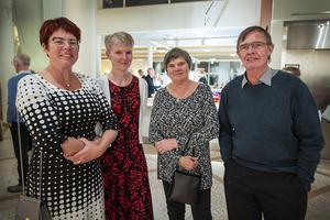 Cecilia Stenmark, Anna Sjöstrand, Karina och Billy Ullberg hade koll på de fina omdömen som Sanna Nielsen fått för sin föreställning.