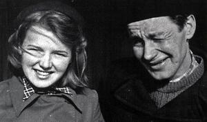 Gerd och Niklas gifte sig 1943. De delade bland mycket annat en stor passion för konsten.  Foto: Privat