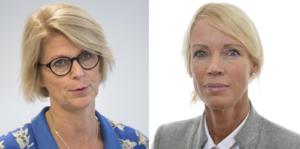 Elisabeth Svantesson (M), ekonomisk-politisk talesperson och Saila Quicklund (M), Jämtlands län Arbetsmarknadsutskottet