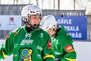 Kärleken till bandyn är ett genomgående inslag i Sofies berättelse. Foto: Mattias Boström