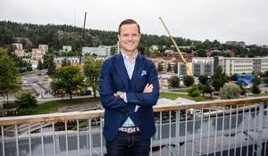 Petter har valt att stanna och jobba i Sundsvall.