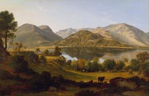Landskapet kring sjön Ullswater i engelska Cumbria spelar en stor roll i Mary Shelleys roman