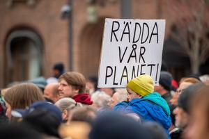 Klimatfrågan dominerade i årets förstamajtåg.