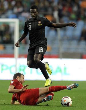 Silvestre Varela, Porto. Portugal–Luxemburg, VM-kval 15 oktober 2013, 3–0.         Gerson om Varela: