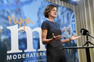 Moderaternas partiledare Anna Kinberg Batra meddelade på fredagen sin avgång.