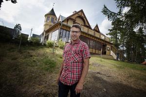Pär Allansson, ägare Främby Udde resort.