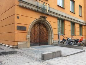 Säkerhetssalarna vid Stockholms tingsrätt.