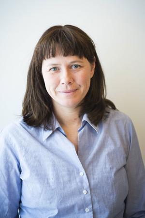 Åsa Romson, språkrör för Miljöpartiet besökte S:t Olofsskolan på torsdagen.