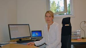 Maja Öhman Nyberg, chefsveterinär på Anicura Falu Djursjukhus.