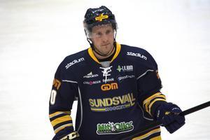 Oscar Ahlström i Sundsvallströjan.