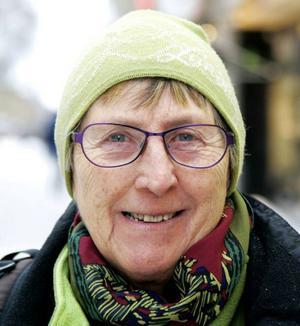 Elna Jonsson, 71 år, Kaxås:– Nej. Det blir tufft för de affärer som finns. Det är utförsäljningar och affärer flyttar. Det kan vara ett tecken på att det går dåligt redan.
