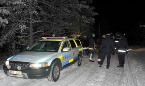 Der var flera minusgrader och mörkt när olyckan skedde.