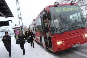 Dras in. SL anser att trafiken på buss 861 går för tätt och vill minska antalet turer.