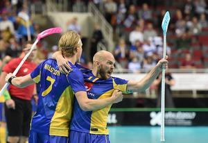 Kim Nilsson avgjorde finalen till Sveriges fördel.