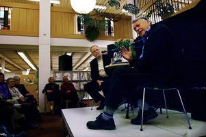 Björn Widegren i samtal med Per Gunnar Evander.