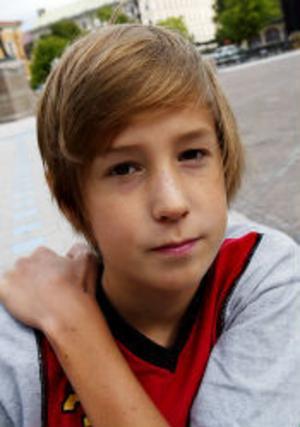 Jakob Åberg, 14 år, Skönsberg—Det är trist, för det är jobbigt att inte vara ledig.