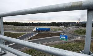 Någon större rusning efter mark vid den nya trafikplatsen i Stockvik är det inte. Klart är dock att Statoil ska bygga, trots att ingen detaljplan finns.