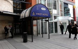 First Hotel Plaza i Skrapan i centrala Västerås.