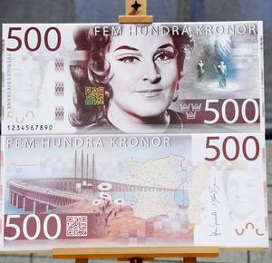 Birgit Nilsson pryder 500-kronorssedeln.