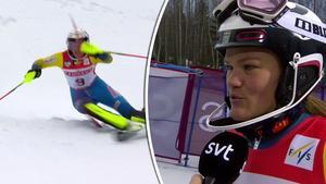 Anna Swenn-Larsson blev tvåa.