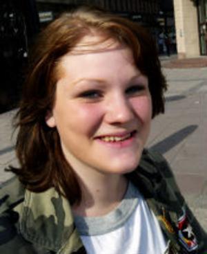 Sara Höglund, 15 år, Fränsta—Det är sådär, men jag börjar inte idag utan först på onsdag.