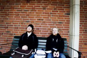 Stuart Brooks och Robert Mizen valde att bosätta sig och starta företag i Sverige. Att de hamnade i Skutskär var en ren slump.