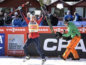 Över 80 tv-kameror kommer att följa varje del av eliten i skid-VM. I våras vann Therese Johaug i Falun.