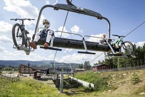 Lofsdalen bikepark.