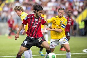 Sinan Ayranci i ÖFK-tröjan. Nu ställs han mot sitt gamla lag när hans Varberg möter ÖFK.