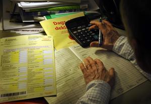 Oavsett om det deklareras digitalt eller på papper är kommunalskatten en tung post