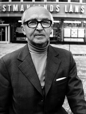 Anders Yngve Pers, VLT:s huvudredaktör och utgivare åren mellan 1948 och 1972.  Han var en sann publicistisk hjälte.