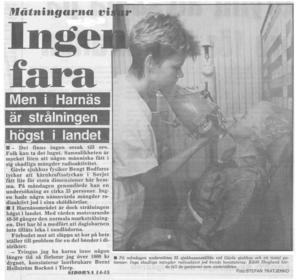 Arbetarbladet, 6 maj 1986.