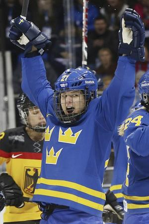 Emma Nordin stod över träningen på onsdagen, men spelar mot Ryssland.