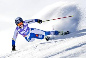 Kajsa Kling hade bäst fart och kontroll på skidorna under lördagens SM-storslalom i Funäsdalen. Åreåkaren tog därmed sitt fjärde SM-guld i  vår.