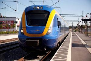 Enligt uppgifter från Trafikverket råder stopp i tågtrafiken på grund av ett spårfel mellan Fränsta och Torpshammar.
