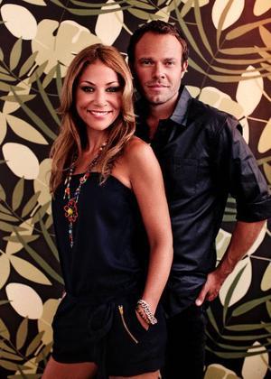 Tilde de Paula och David Hellenius tar med sig kändisar till djungeln i Malaysia. Foto: Morgan Norman Söderberg/TV4