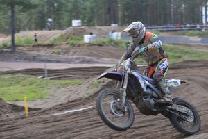 Per Nyberg, Bollnäs MK, körde starkt i Årsunda.