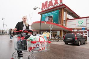 Sofia Johansson anser att butiken är fräsch och fin.