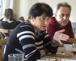 Vira och Igor Pankiv berättar om vägen från bärplockningen i Järvsö till det framgångsrika bageriet och konditoriet i hemstaden Borislav.