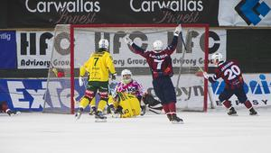 LBK-målvakten Jonas Svensson fick släppa tre bollar bakom sig när Ljusdal föll mot Katrineholm.
